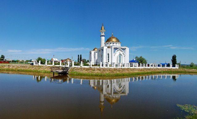 Кантюковка. Мечеть Суфии.
