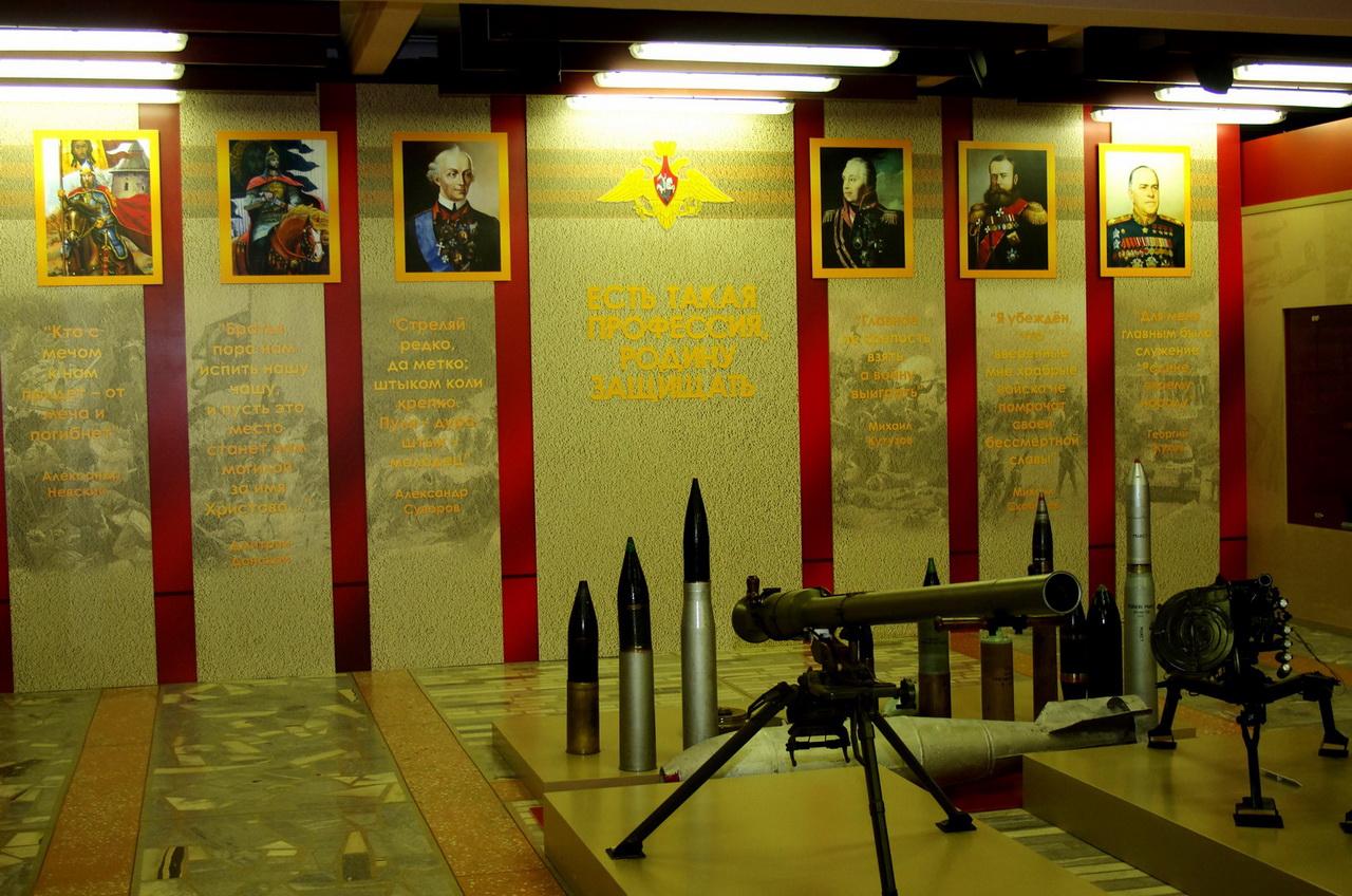 Дом офицеров Центрального военного округа, Екатеринбург, Свердловская область, музей