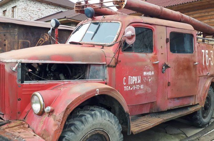 Первая пожарная машина выглядела именно так