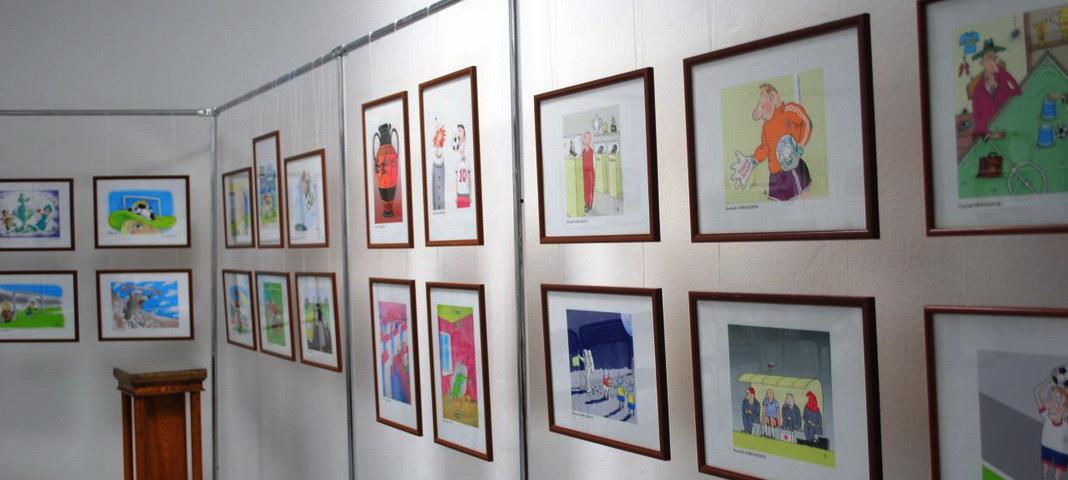 Екатеринбургский музей карикатуры, Екатеринбург, Свердловская область, художники, выставка