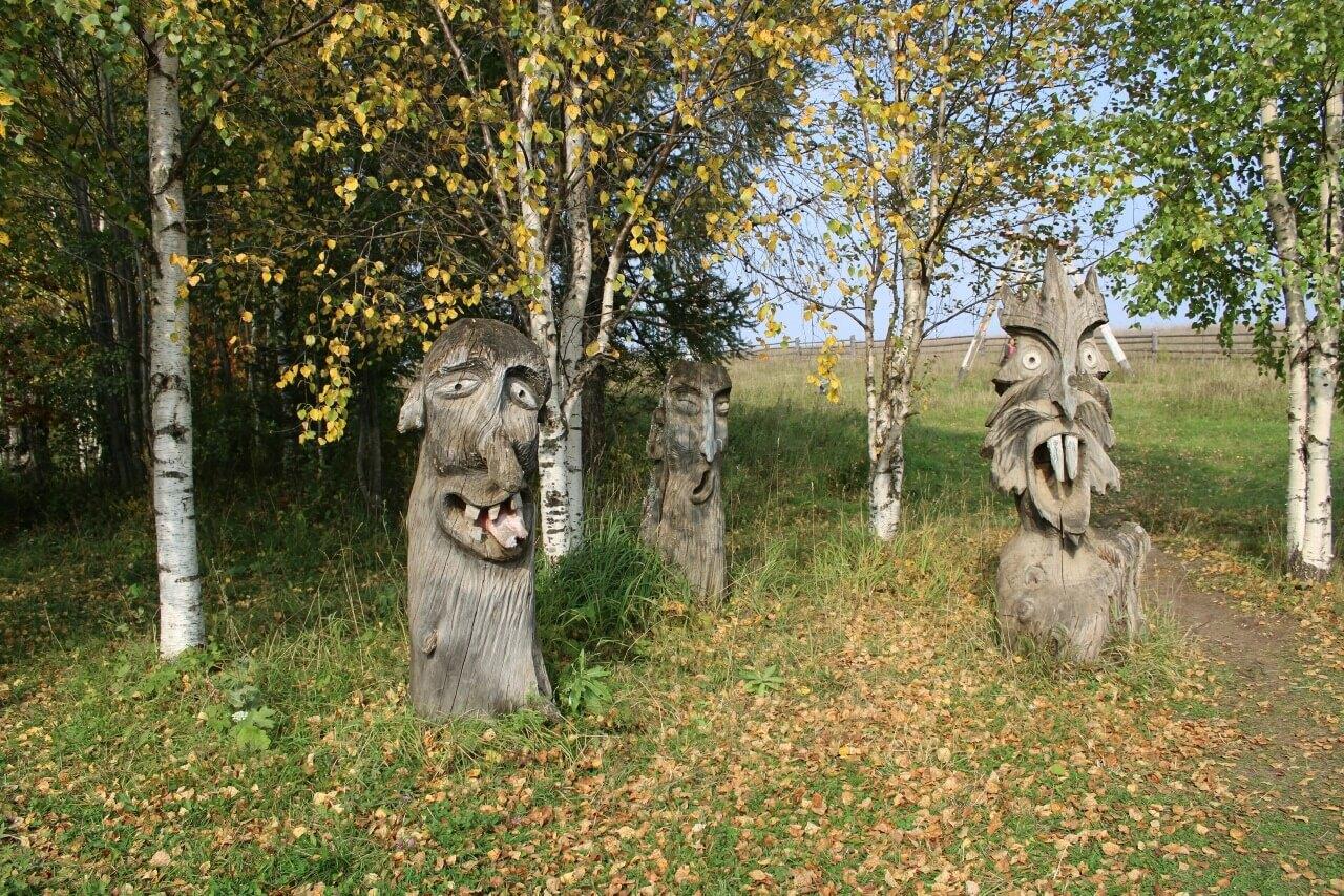 Музей деревянной скульптуры в Пармайлово