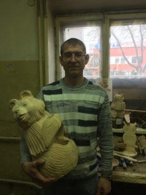 Александр Володин - мастер деревянной скульптуры