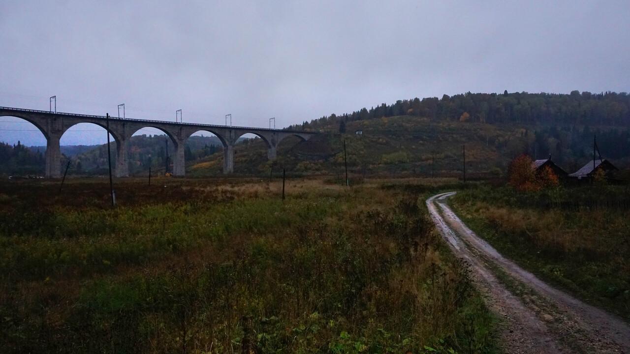 Виадук, Красноуфимск, Свердловская область