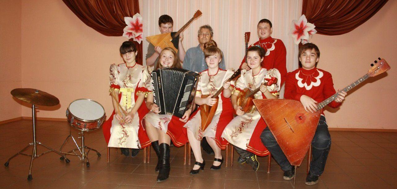 История создания оркестра народных инструментов в МБУК «Дворец досуга» в г. Верещагино
