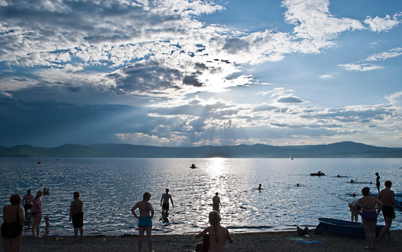 Озеро Тургояк, Остров Веры, Челябинская область, Южный Урал