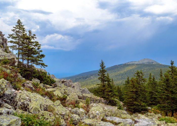 Откликной гребень, Таганай, Челябинская область, Южный Урал