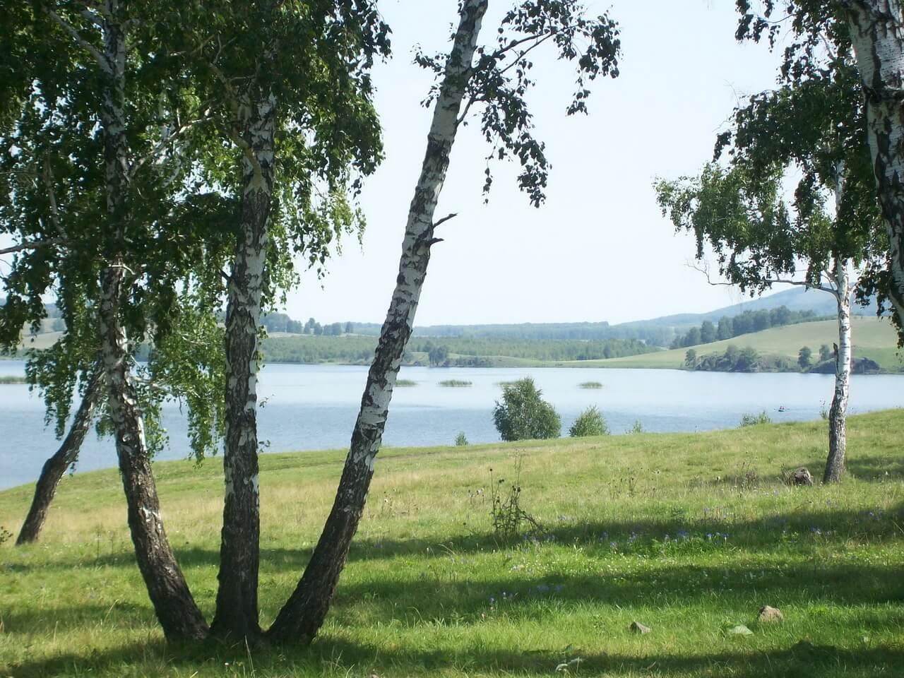 Озеро Узункуль, Озеро Узун-Куль, Башкирия, Башкортостан, Южный Урал