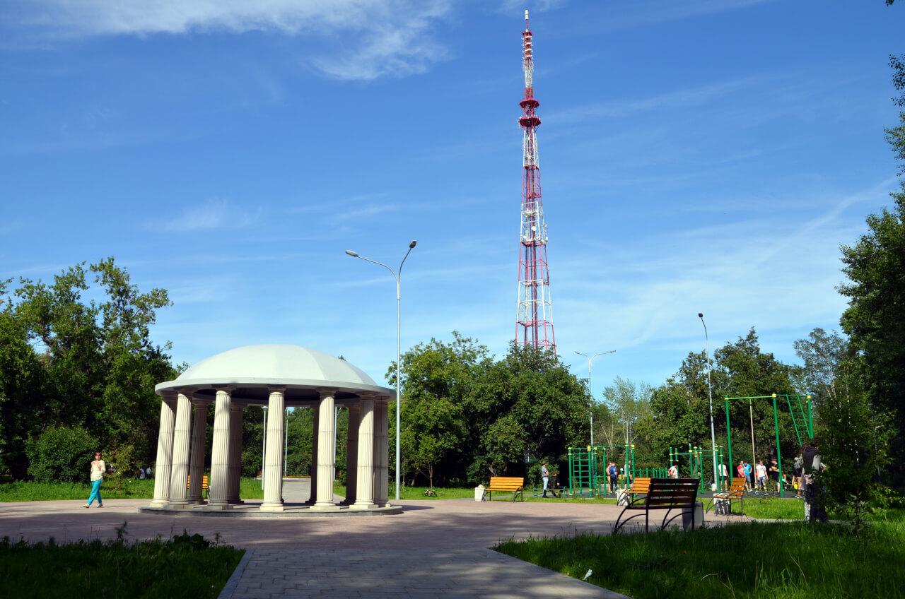 Парк имени Павлика Морозова в Екатеринбурге