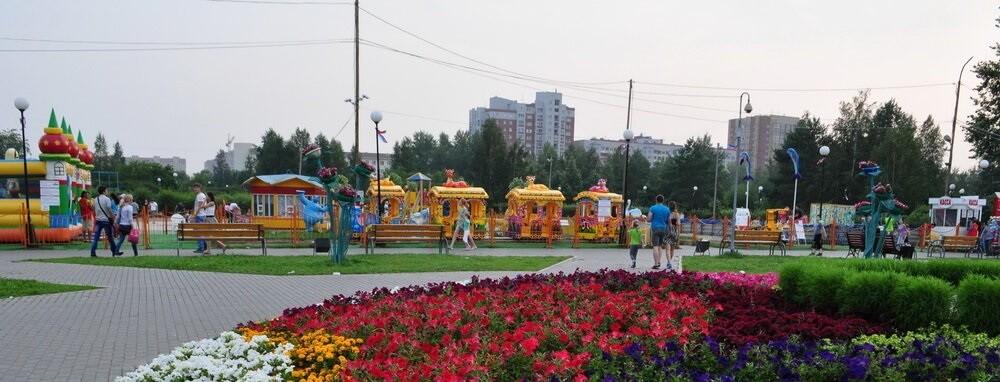 Сквер депутатов, Тюмень, Тюменская область