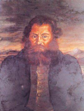 Создатели первого русского паровоза уральские мастера Ефим Алексеевич Черепанов и его сын Мирон Ефимович Черепанов
