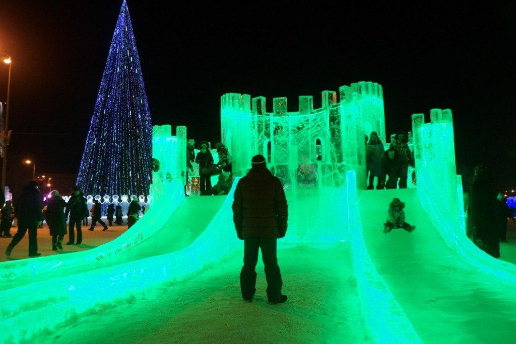 Ледовый городок, Пермь, Пермский край