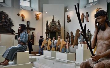 Пермская деревянная скульптура, Пермская художественная галерея, Пермь, Пермский край