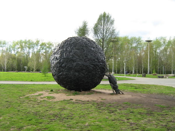 Парк Камней, скульптура Скарабей, Пермь, Пермский край