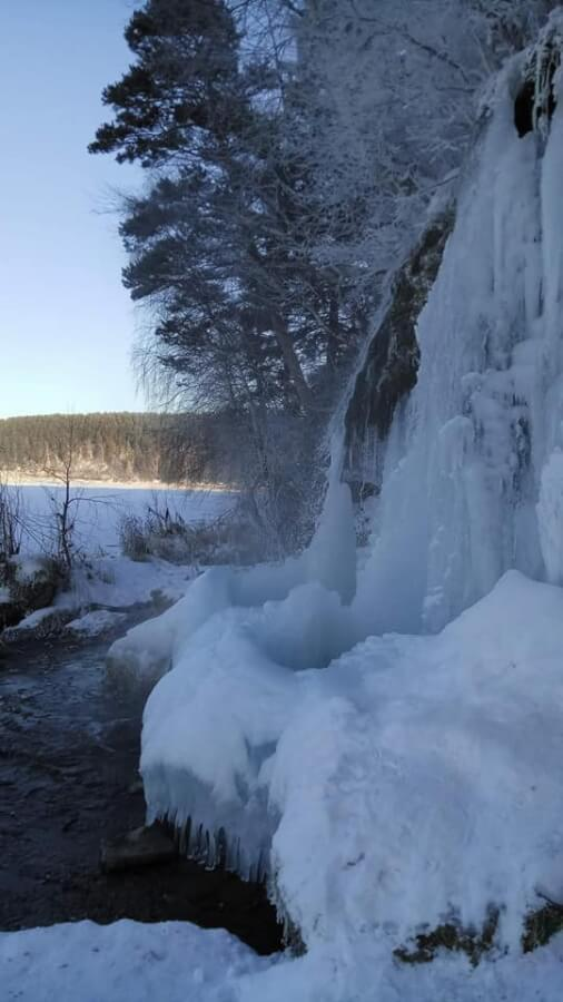 Водопад Плакун, Пермский край