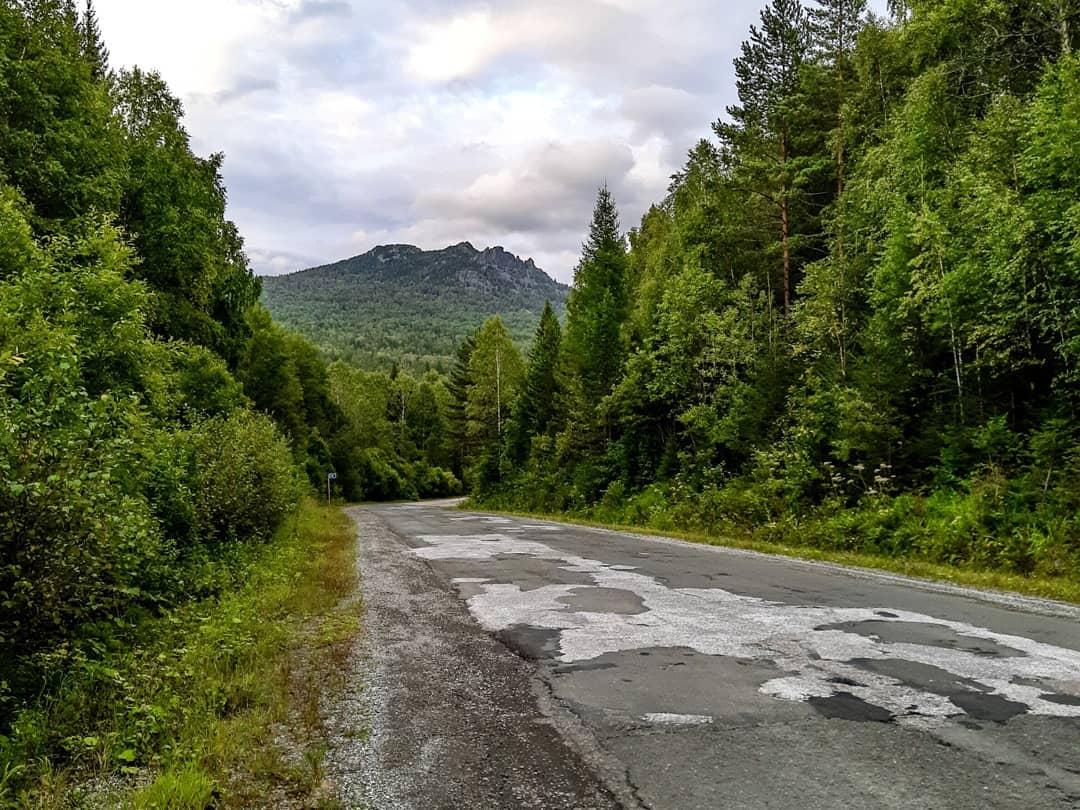 дорога на ЗАТО Межгорье