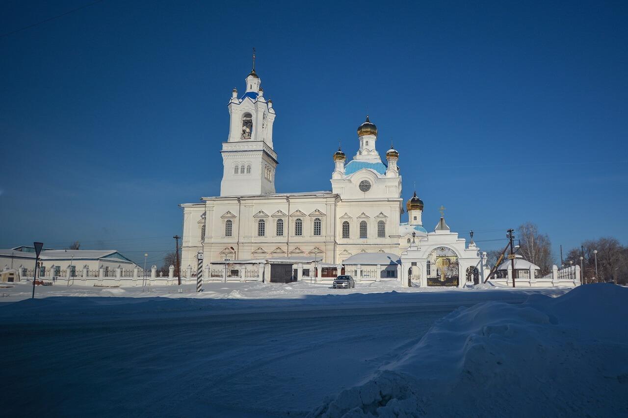 Свято-Покровский cобор города Камышлова