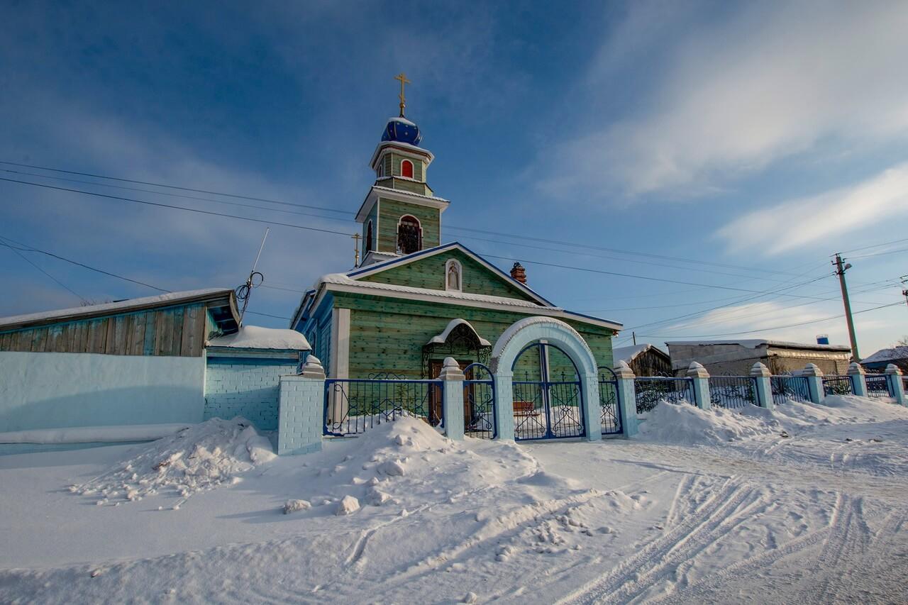 Введенский храм, Село Пристань, Арти, Свердловская область