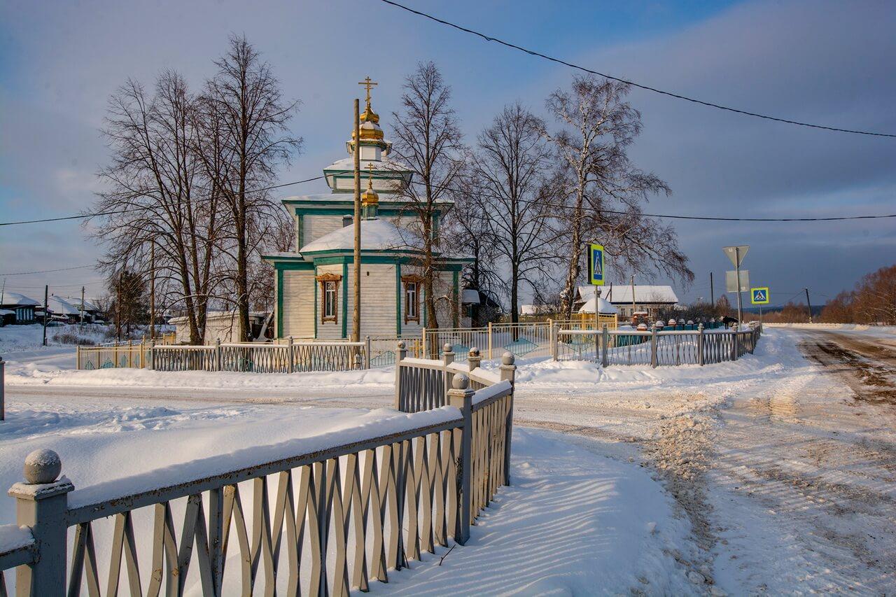 Храм Троицы Живоначальной, Село Пристань, Арти, Свердловская область