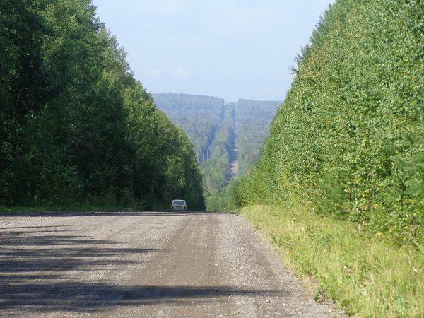 Вдали перевал Большой Урал