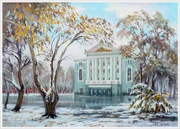 Малышева Любовь Викторовна (Россия, 1965) «Первый снег»