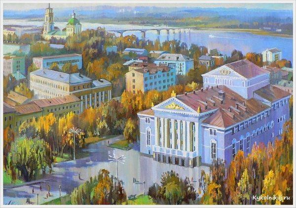 Малышева Любовь Викторовна (Россия, 1965) «Сентябрь в Перми» 2007