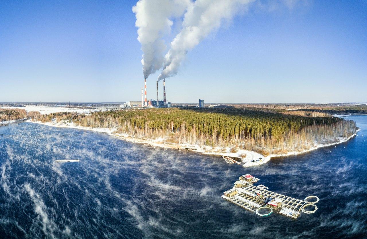 Рефтинская ГРЭС и Рефтинское водохранилище