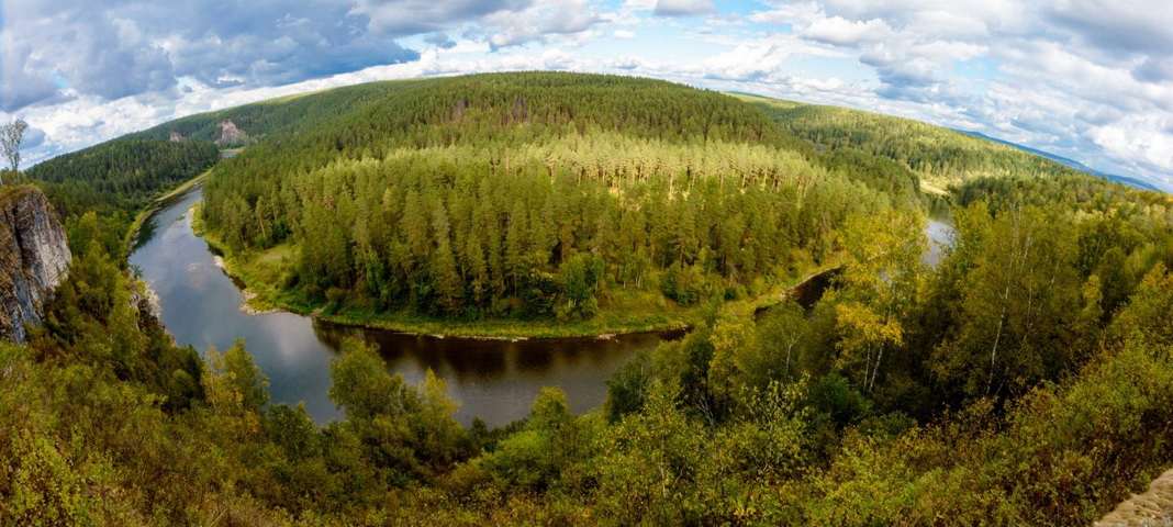 Река Ай, Саткинский район, Челябинская область