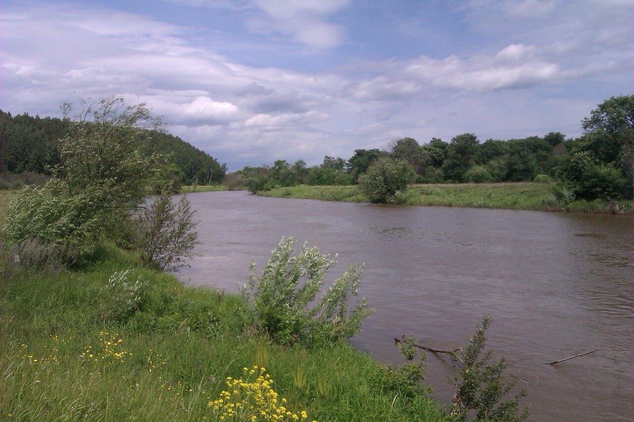 Река Бисерть, Свердловская область
