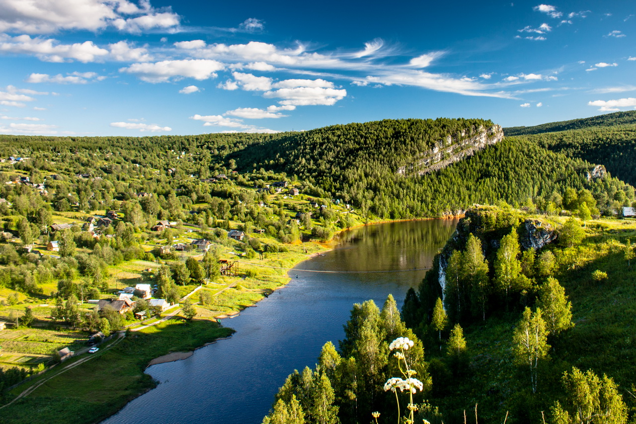 Река Косьва, Пермский край, фото