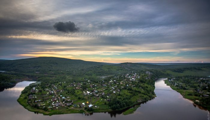Река Косьва Пермский край