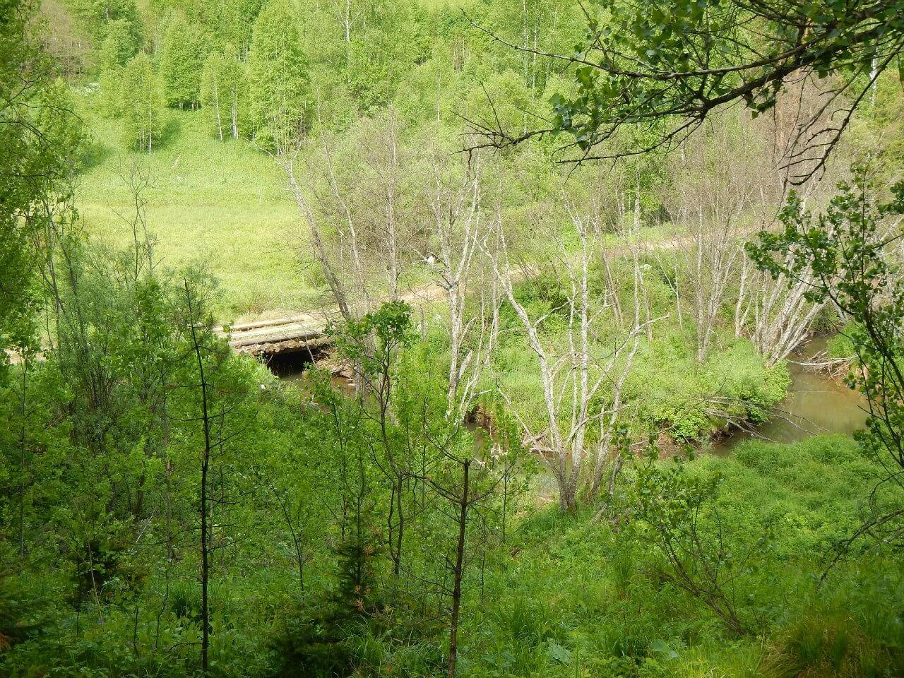 Река Югуш, Свердловская область