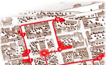 Пешеходный маршрут по центру Перми «Красная линия»