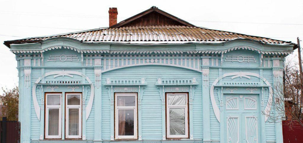 Заповедник  деревянного модерна в Оренбургской области