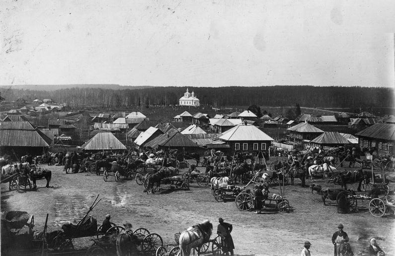Фото Очера в начале XX века.