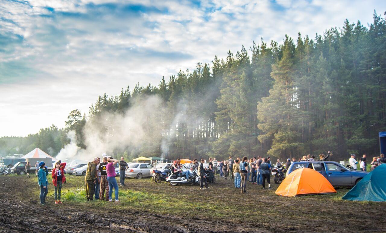 Байк-рок-фестиваль «Рысий след»