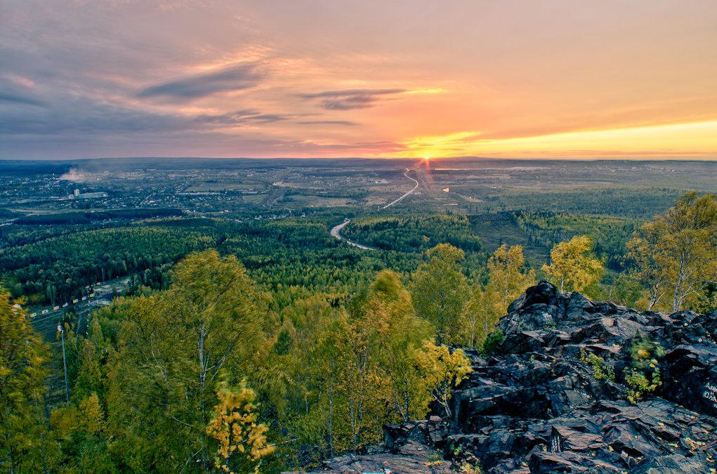 Гора Волчиха, Свердловская область
