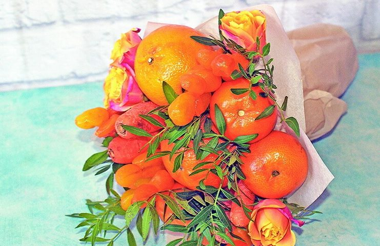 Карина Саджая: Сначала букет, потом салат