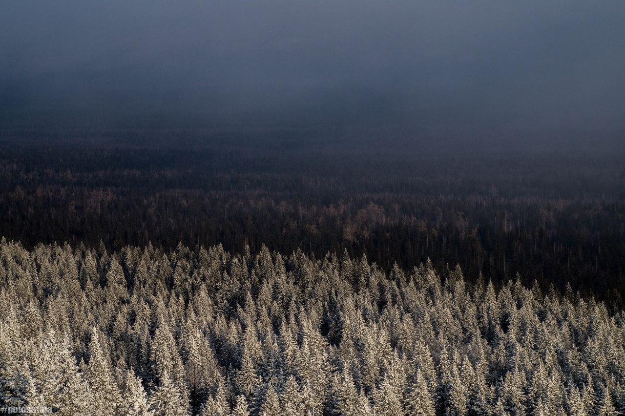Южный Урал, Зима