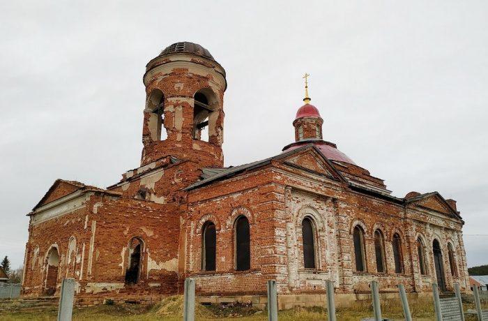 храм святого великомученика Георгия Победоносца в Камышево