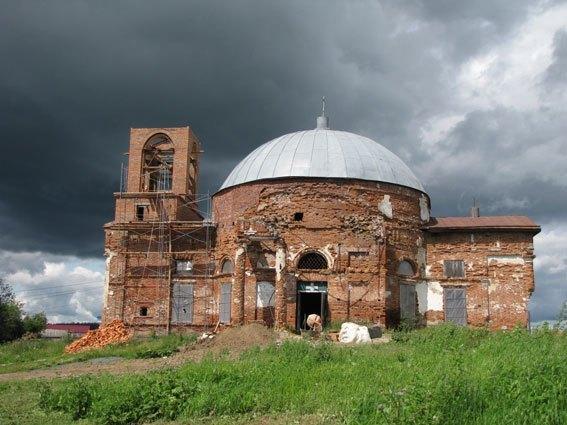 Свято-Николаевский храм, Село Кленовское, Свердловская область