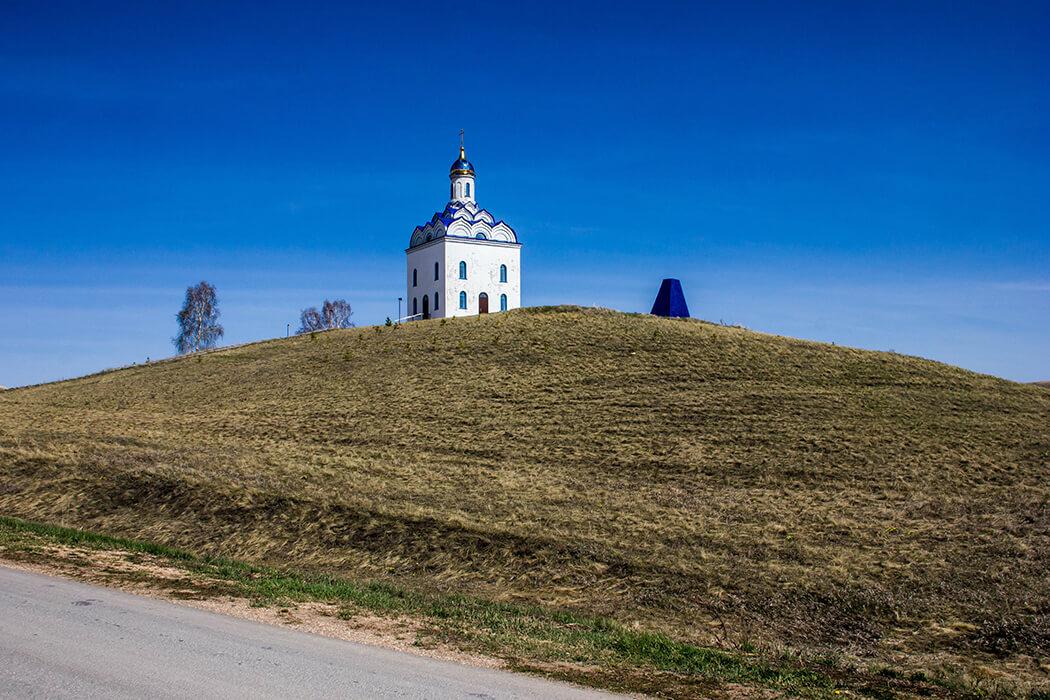 Часовня в селе Дубровка