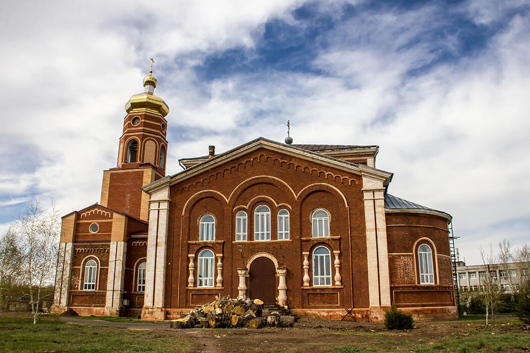 Храм Архистратига Михаила Архангела: Уральская Палестина
