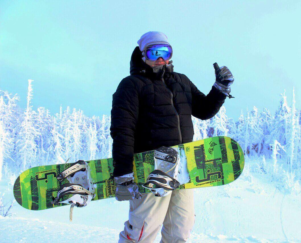 Открытие сезона на горнолыжном комплексе «Райдер-45»