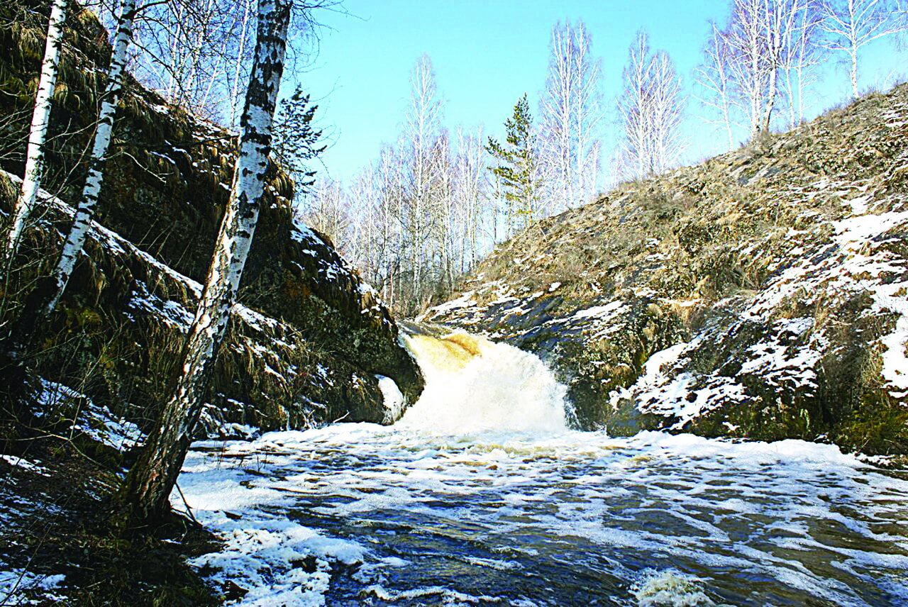 Шатский водопад, Шата