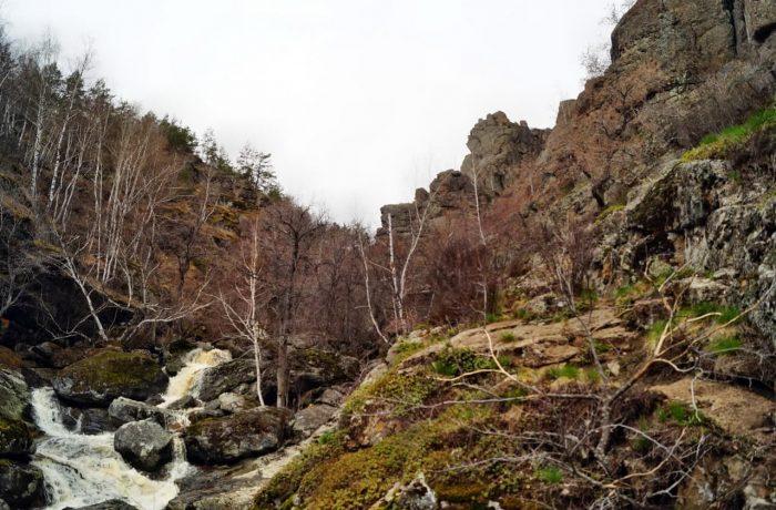 Водопад Гадельша, Башкортостан
