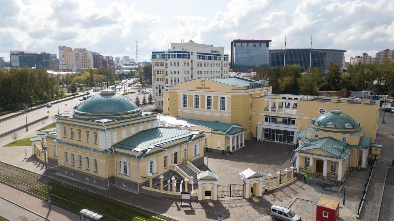 Синара Центр, здание бывшего госпиталя Верх-Исетского завода