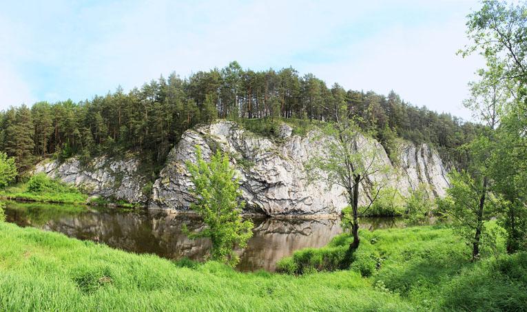 Белый Камень, Реж, Свердловская область