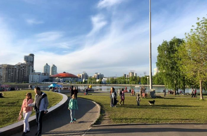 Сквер у Театра Драмы, Екатеринбург