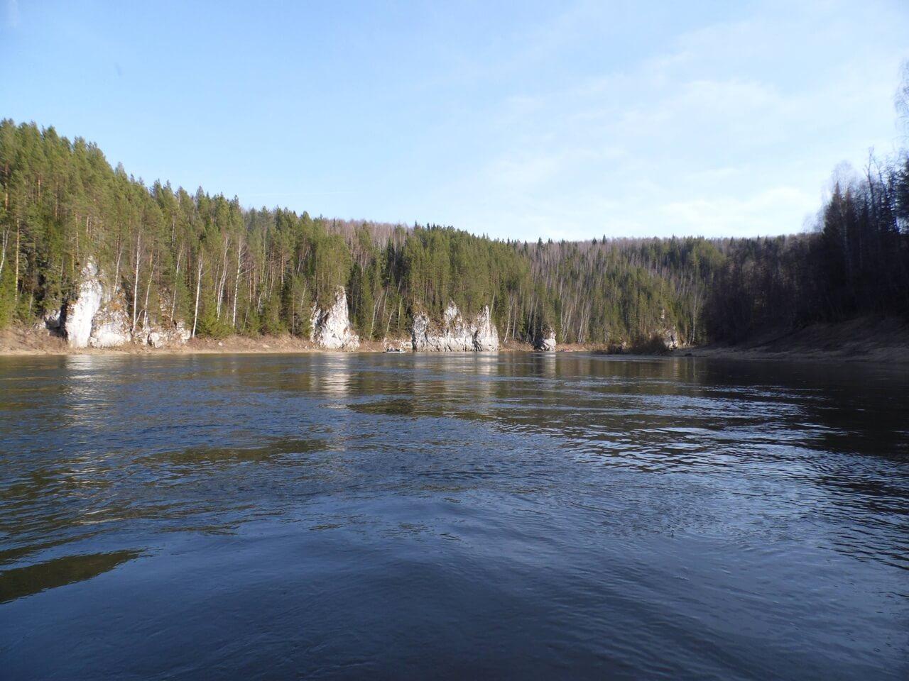 Майский сплав по реке Чусовой