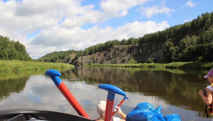 Сплав по реке Исеть